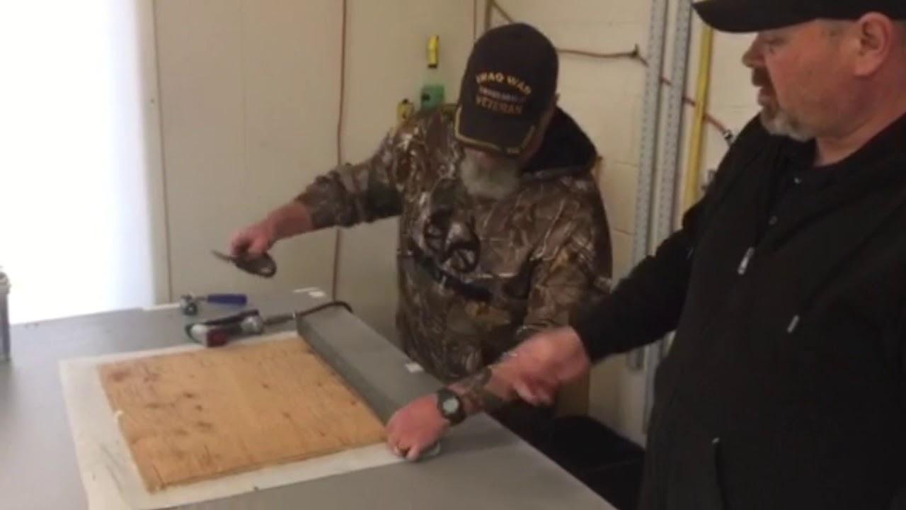 Best Boat Vinyl Flooring Corner Install Diy Youtube