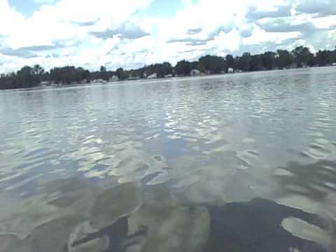 Canoing on Vandercook Lake