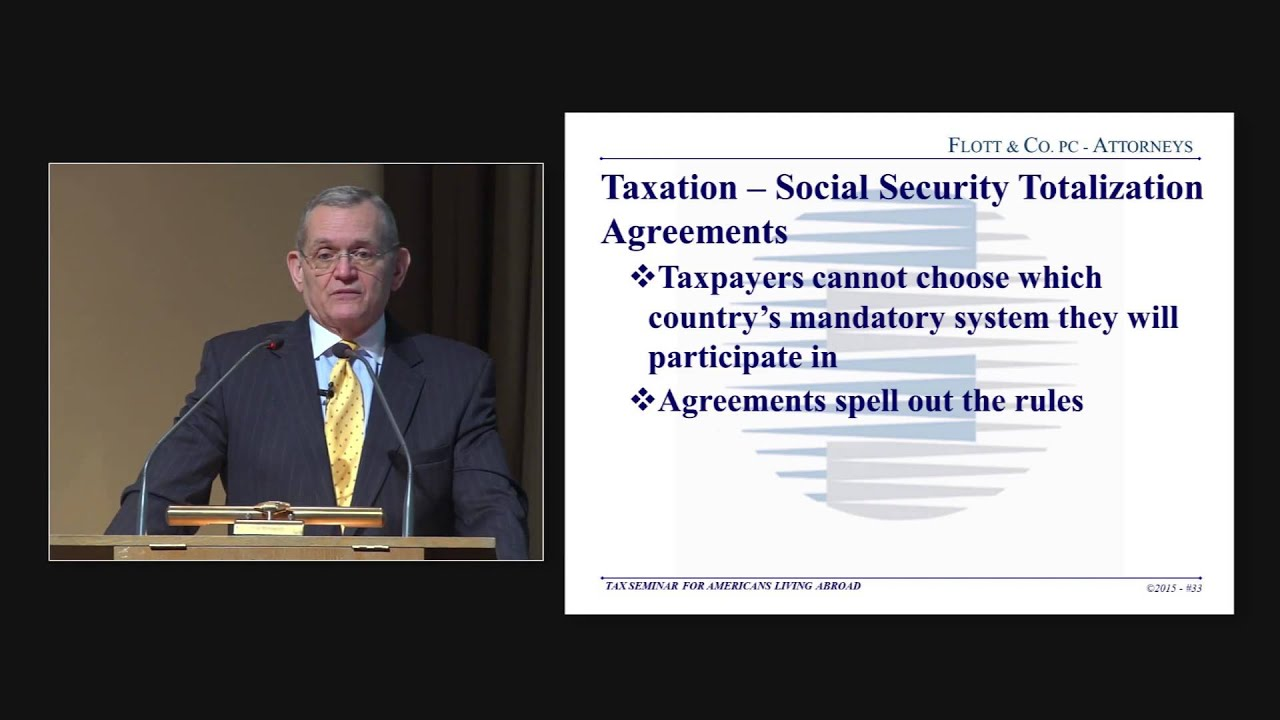 Social Security Totalization Agreement Youtube