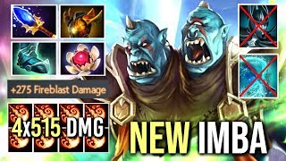NEW RAID BOSS BUILD 7.19 Ogre Counter PA +275 Damage Talent + Scepter Ding Ding Ding WTF Dota 2