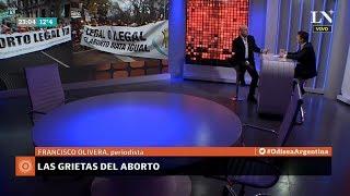 """📡 """"Pancho"""" Olivera sobre """"Las grietas del aborto"""", en """"Odisea Argentina"""" de Pagni - 11/06/18"""