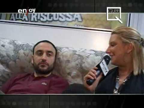 Tino Venditti@QUBE DISCO on ENJOY TV 07.03.2009