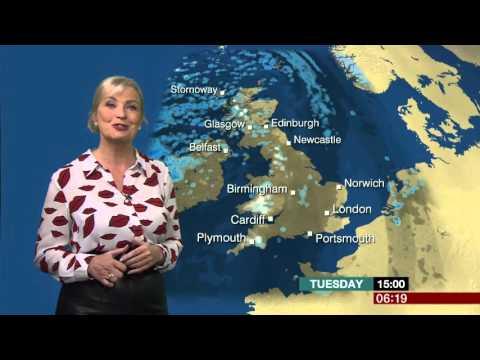 Carole Kirkwood Blouse With Lips & Leather Skirt