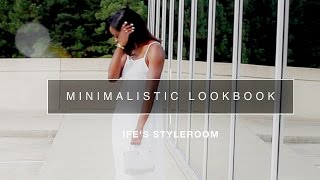 MINIMALISTIC LOOKBOOK 2015