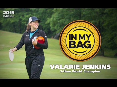 In My Bag with 3-time Disc Golf World Champion Valarie Jenkins (2015)