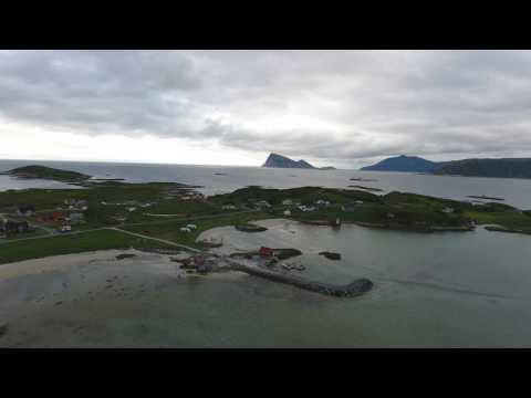 Sommarøy -  Capture with a drone 17.07.16 Troms