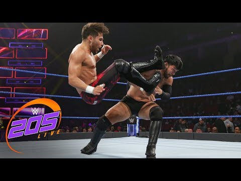 Noam Dar vs. Hideo Itami: WWE 205 Live, Dec. 19, 2018