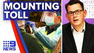 Coronavirus: Victoria death toll rises within 24 hours | 9 News Australia