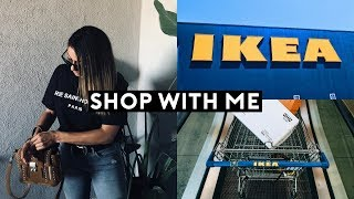 IKEA SHOP WITH ME! NEW IKEA SHOPPING + HAUL  2018