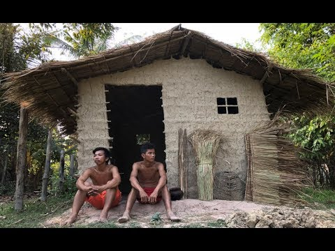 Primitive Technology: Cogon Grass Roof Hut