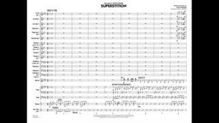 Superstition by Stevie Wonder/arr. Paul Murtha