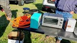 Morganton  NC Catawba Valley Hamfest 2019 Boneyard