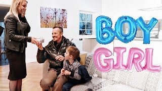 Das emotionalste Video EVER! 😭 Mädchen oder Junge? So habe ich meinen Mann überrascht!