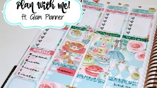 "Plan With Me! ft. Glam Planner ""Waldorf"""