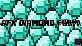 Minecraft Automatic AFK Diamond Farm | Works in 1.16.1!!!