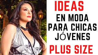 (SOLO IDEAS) Moda para chicas jóvenes plus size #shorts
