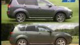 Car test Peugeot 4007 & Citroen C-Crosser