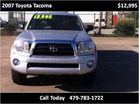 Superior Hertz Car Sales | 2007 Toyota Tacoma | Used Cars Fort Smith AR | Cars For  Sale