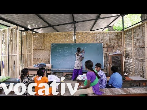 Crowdfunded Bamboo School Is Giving Kids In Delhi Slums A Chance To Learn