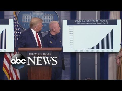 President Trump details how many COVID-19 tests have been performed
