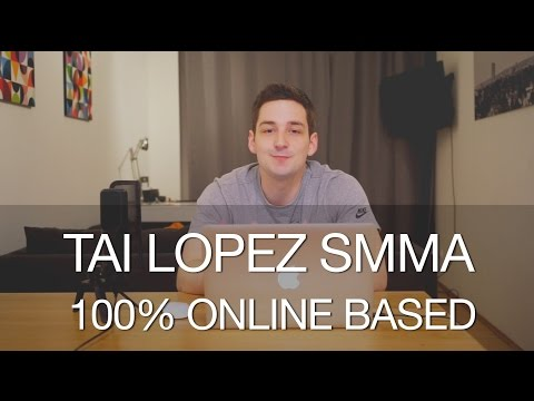 Tai Lopez Social Media Marketing Agency - How To Run It 100% Online Based!