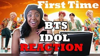 First Time Reaction To Bts 방탄소년단 39 Idol 39 Official Mv