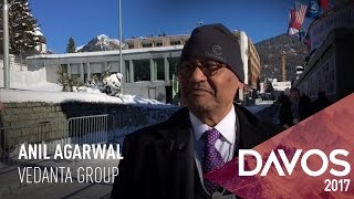 WEF 2017: Anil Agarwal On New Investments