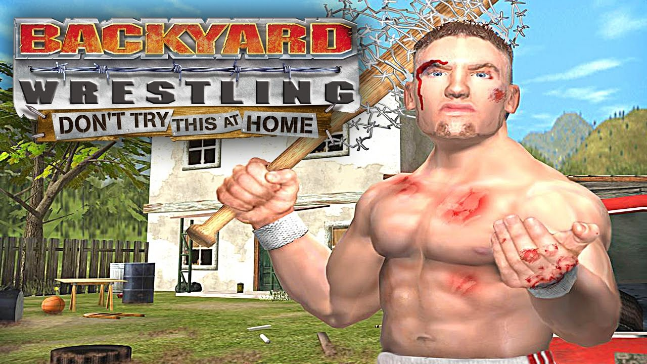 BACKYARD WRESTLING DONT TRY THIS AT HOME  UM GAME MUITO HARDCORE  YouTube