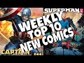 HOT TOP 10 NEW COMICS TO BUY FOR JUNE 19TH - NCBD WEEKLY PICKS FOR NEW COMIC BOOKS - MARVEL and more