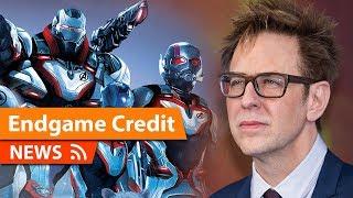 James Gunn gets Credit on Avengers Endgame & Why