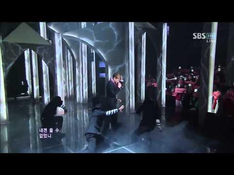 양요섭 of BEAST [카페인] @SBS Inkigayo 인기가요 20121202