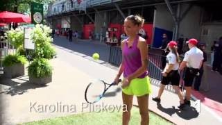 Karolina Pliskova   WTA Frame Challenge