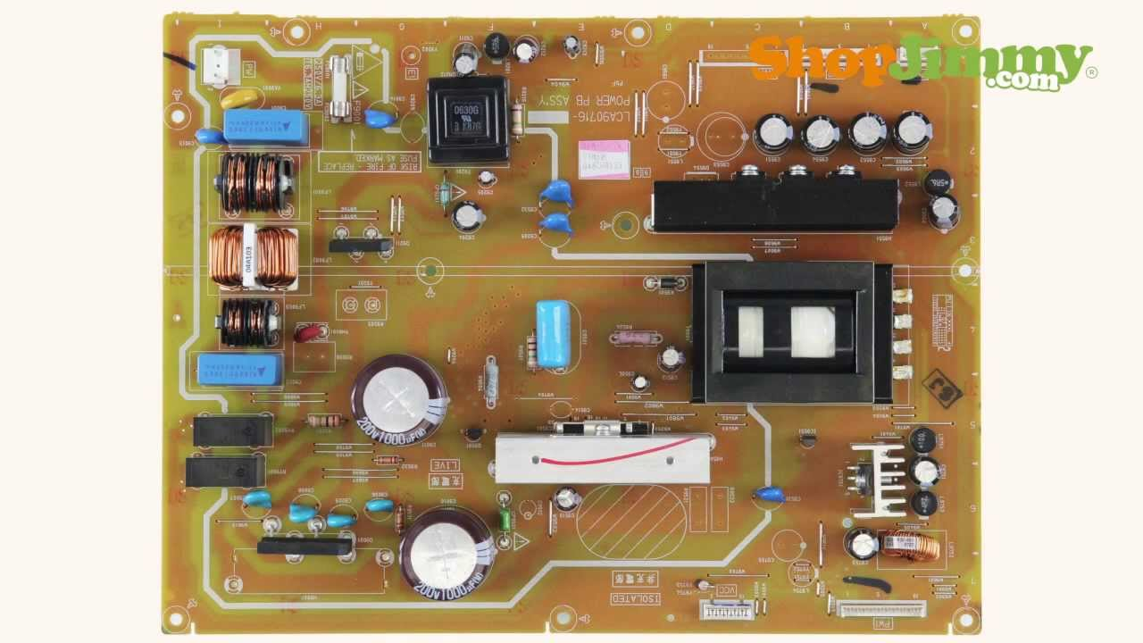 JVC TV Part Number Identification Guide for Power Supply Unit (PSU) Boards (LCD, LED, Plasma TV