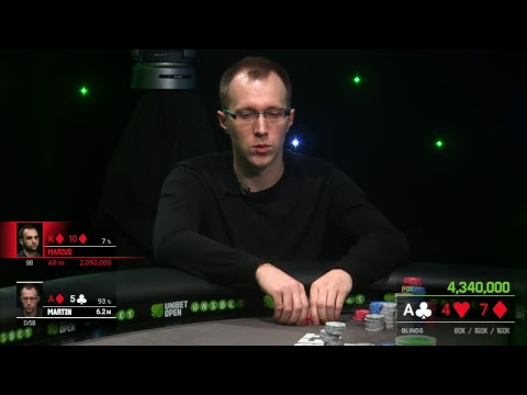 Main event Final Day at Unibet Open Sinaia 2019