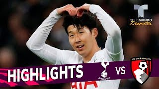 Tottenham vs. Bournemouth: 5-0 Goals & Highlights | Premier League | Telemundo Deportes