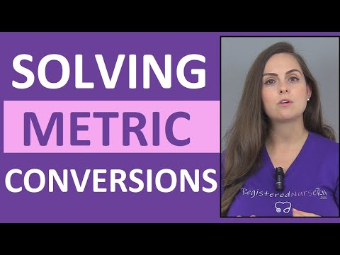 Metric Conversions Made Easy | How Solve in Metric Conversions w/ Dimensional Analysis (Vid 1)