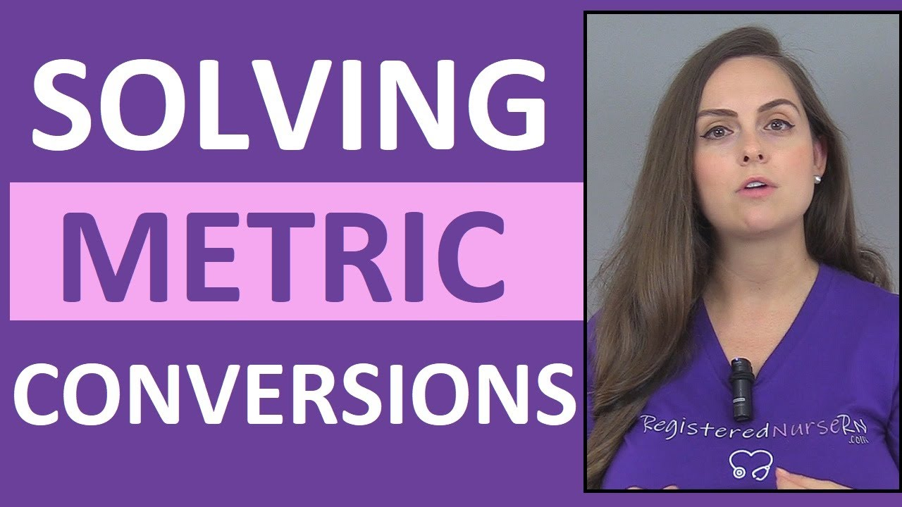 Download Metric Conversions Made Easy | How Solve in Metric Conversions w/ Dimensional Analysis (Vid 1)