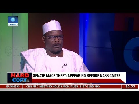 Ndume Expresses Disappointment Over NASS Summon | Hard Copy |