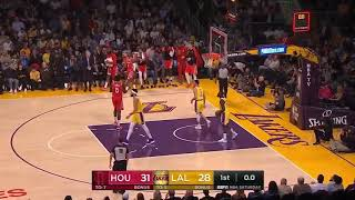 Carmelo Anthony Highlights Houston Rockets vs Los Angeles Lakers 20 10 18