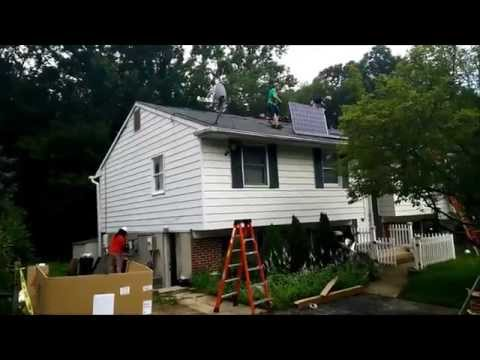 Solar City - Detailed Review - Roof Panel Installation Video
