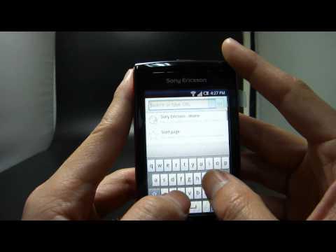 Sonyericsson W8 Walkman Phone E16i test