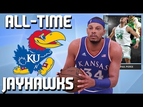 All-Time Kansas Jayhawks Team - Diamond Paul Pierce & Wilt Chamberlain - NBA 2K16 MyTeam
