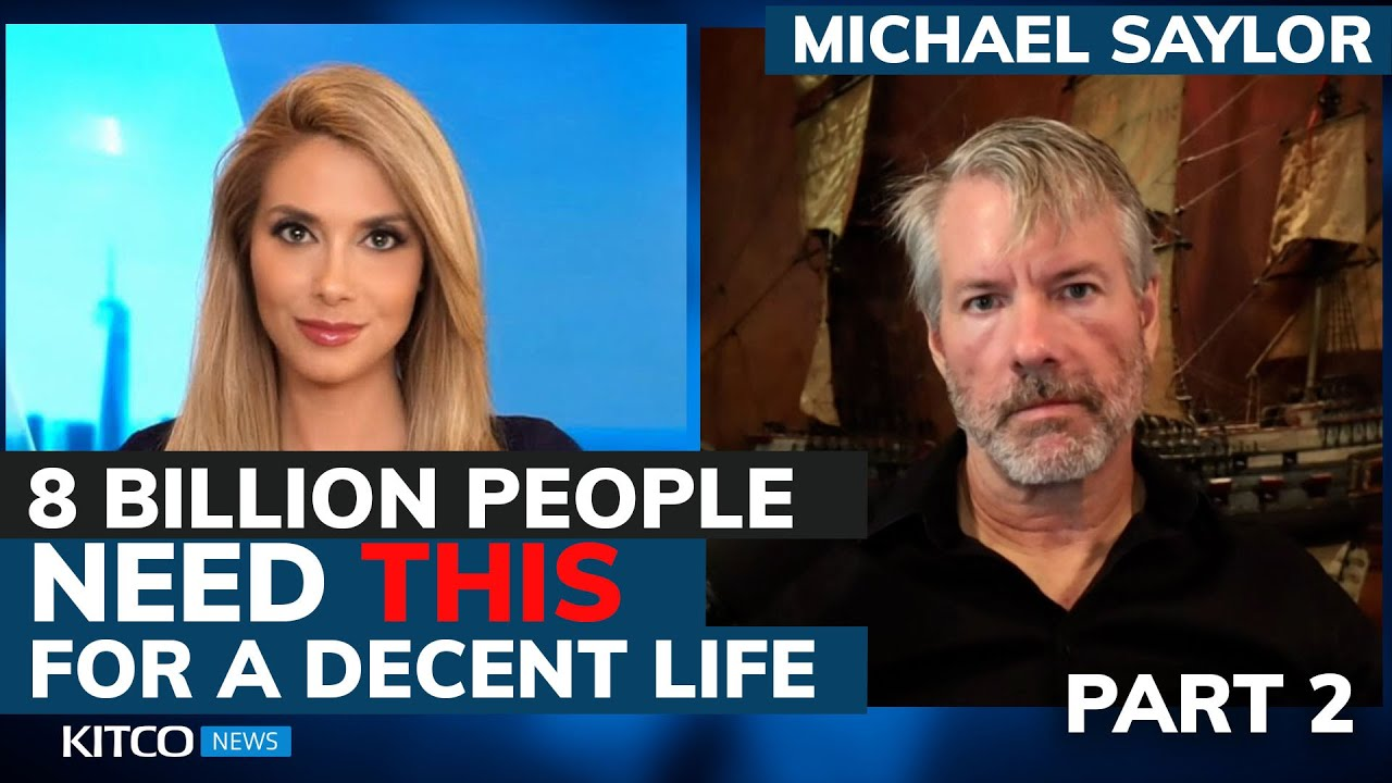Download Michael Saylor: Why Bitcoin standard is what 8 billion people need for decent life (Pt. 2/2)