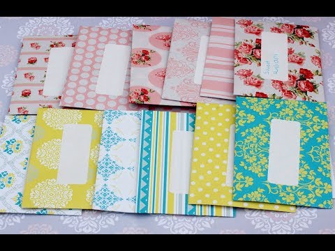 How To Make Pretty Seed Packets-Envelopes For Your Garden Saved Seeds