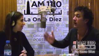 """Alejo García Pintos con Ingrid Beck / """"Con Todo al Aire"""" AM1110"""
