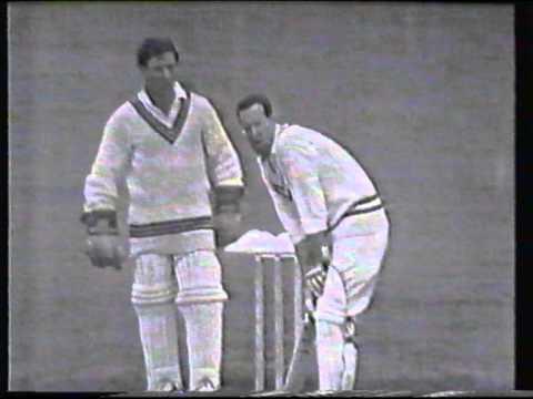 Cricket : Somerset XI v. Rothmans Cavaliers 1966