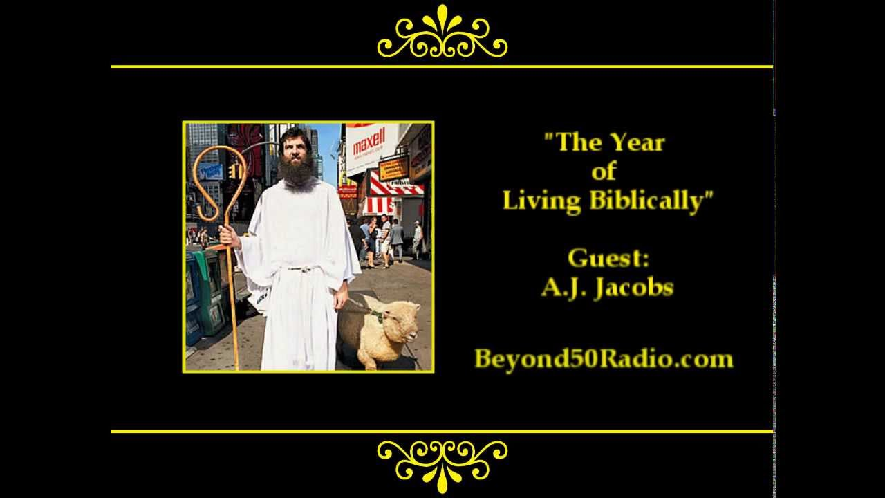 an overview of the novel the year of living biblicaly by a j jacobs The year of living biblically 9780434017119 a j jacobs cornerstone 2008 | cheap used books from world of bookscom.