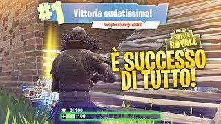 LO QUE UN JUEGO! ¡Victoria real IMPEGNATIVA! Fortnite Battle Royale ITA!
