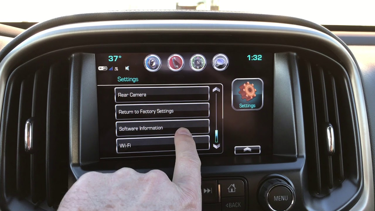 2017 Gmc Intellilink Software Update Youtube