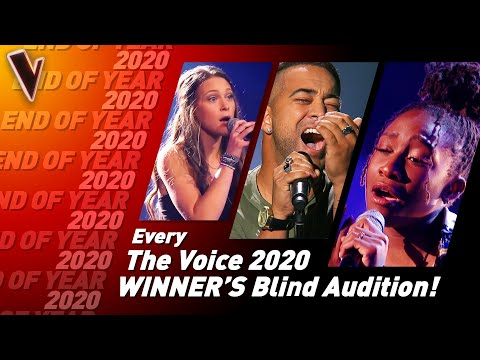 Blind Auditions of every WINNER of The Voice 2020   SPECIAL